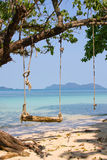Beautiful beach and tropical sea, Thailand. Royalty Free Stock Image