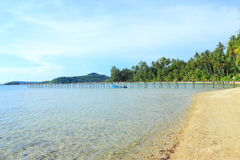 Beautiful. Beach in tropical of Thai Royalty Free Stock Images