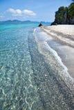 Beach of tropical Thailand. The beautiful beach of tropical Thailand Royalty Free Stock Photos