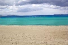 Beautiful Beach in ,Turkey Stock Photos