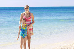 Beautiful beach vacation Royalty Free Stock Photography