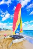 The beautiful beach of Varadero in Cuba Royalty Free Stock Image