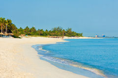 The beautiful beach of Varadero in Cuba Royalty Free Stock Photos