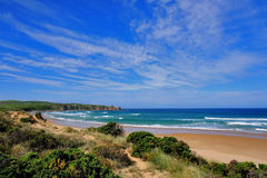 Beautiful beach view in newzealand Royalty Free Stock Photography