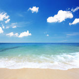 Beautiful beach waves Royalty Free Stock Image