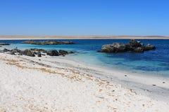 Beautiful beach with white sand Stock Image
