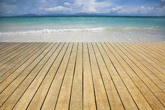 Beautiful beach Stock Images