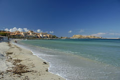 Beautiful beache Corsica Royalty Free Stock Photos