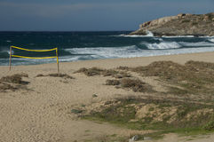 Beautiful beache Corsica Stock Images