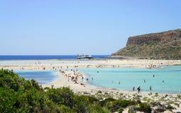 Beautiful beaches of Gramvousa Stock Image