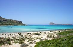 Beautiful beaches of Gramvousa Royalty Free Stock Photos