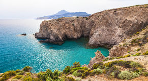 Beautiful beaches of Greece Royalty Free Stock Photos