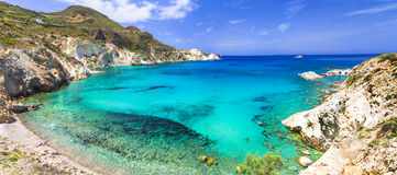 Beautiful beaches of Greece Stock Images