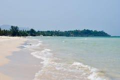 Beautiful beaches in Thailand. Chumphon Royalty Free Stock Photo
