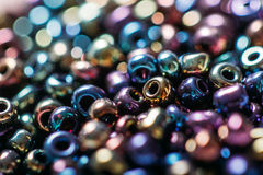 Beautiful beads with dept of field. Beads with dept of field Stock Image