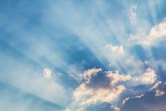 Beautiful Beam of light Stock Image