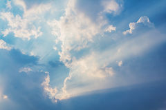 Beautiful Beam of light Royalty Free Stock Photography