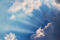 Beautiful Beam of light Stock Photo