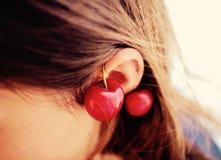 Beautiful, Beauty, Cherries Royalty Free Stock Photo
