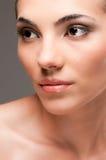 Beautiful beauty model royalty free stock photography