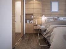 Beautiful bedroom design Royalty Free Stock Photos