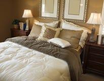 Beautiful Bedroom Detail Royalty Free Stock Photo