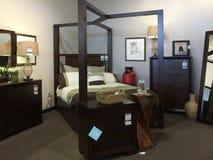 Beautiful bedroom furniture selling Stock Photo