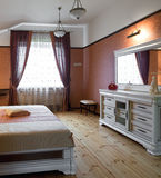 Beautiful bedroom interior Royalty Free Stock Images