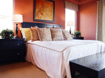 Beautiful Bedroom Interior Royalty Free Stock Photos