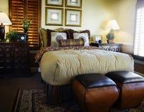 Beautiful bedroom interior design Royalty Free Stock Photography