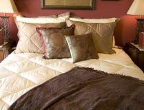 Beautiful bedroom interior design Stock Images