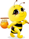 Beautiful bee Stock Images