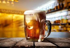 Beautiful beer pub Royalty Free Stock Image