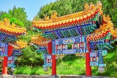 Beautiful Beihai Park, near the Forbidden City, Beijing. Royalty Free Stock Images