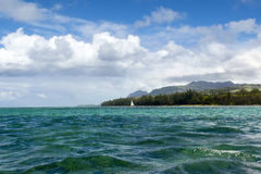 Beautiful Bel Ombre coastline in Mauritius Royalty Free Stock Photo