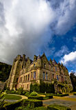 Beautiful belfast castle. Picture of Belfast Castle in Northern Ireland stock photos