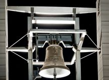 Beautiful bell at night Royalty Free Stock Image