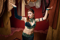 Beautiful Belly Dancer Royalty Free Stock Photos