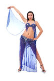 Beautiful belly dancer Stock Image