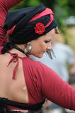 Beautiful Belly Dancer Stock Photo