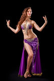 Beautiful belly dancer  posing Stock Photo