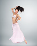 Beautiful belly dancer woman Royalty Free Stock Photos