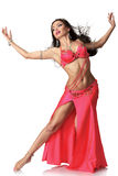 Beautiful belly dancer woman Stock Photos