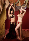 Beautiful Belly Dancers Stock Photo