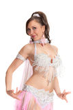 Beautiful bellydancer Stock Image