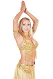 Beautiful bellydancer Royalty Free Stock Photography