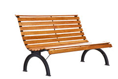 Beautiful bench separately on a white background Stock Image