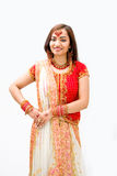 Beautiful Bengali bride Stock Images