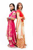 Beautiful Bengali brides stock photography