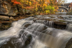 Beautiful Berea Falls In Autumn Royalty Free Stock Images
